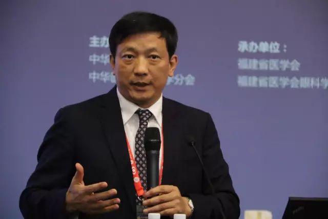 """9月15日下午,在第22次 眼科学术大会上,中国眼科医师""""明日之星""""计划在福州海峡 会展中心正式启动,数 名中外眼科专家在现场及通过视频直播共同见证。4.jpg"""
